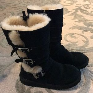 Girls size 4 Black UGG boots